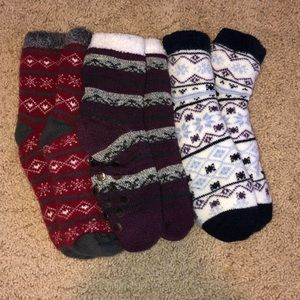 Shoes - Fuzzy socks bundle